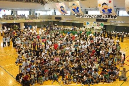 第19回深川っ子運動会10月10日体育の日